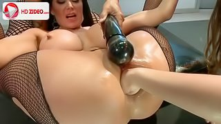 Anal, Fisting,Big Dildo- DANA VESPOLI, CHANEL PRESTON AND EVA KARERA
