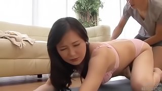 7 - Japanese Milf And Stepson Yoga Exercises - LinkFull In My Frofile
