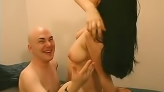 There is nothing better for a naughty brunette than fucking with a neighbor