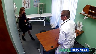 Legal Age Teenager model cums for tattoo removal doctor enjoys himself in her constricted twat