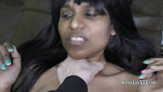 South Indian Horny Lily Blowjob