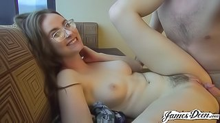 JAY TAYLOR'S FIRST TIME ANAL - NERVOUS CUTIE GETS HER ASS DEFLOWERED!
