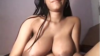 Busty immature bitch shows me her tits