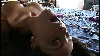 Hot Girls Cum Again and Again with Toys in Every Hole
