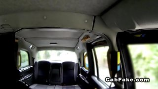 Cab driver anal fucking foreign babe outdoor