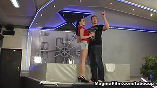 Mea Melone in Spanked And Fucked Movie