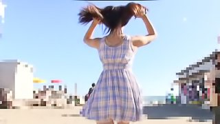 Beautiful Japanese has sex in 69 position and gets pounded