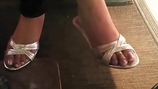 Sexy Indian Shoeplay