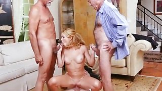 Old milf french and old couple forest first