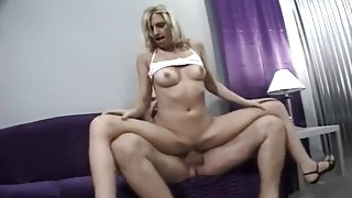 Young Blonde Takes It Up The Ass