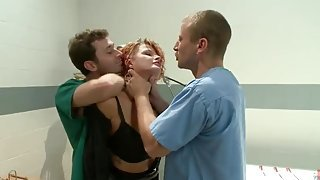 James Deen, Mr. Pete and Joslyn James in nice bdsm group porno movie