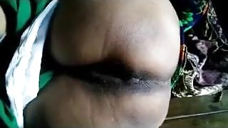 DESI VILLAGE WIFE EXPOSING SHAVED PUSSY AND ASS