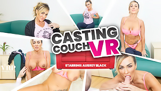 Casting Couch VR Aubrey Black