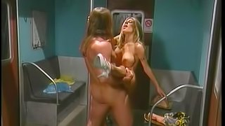 Kiri gives head to some guy and lets him smash her pussy
