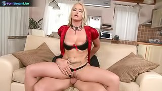 Adorable minx Katy Campbell loves to fuck strangers