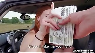 Public Pickups - Czech Teen Amateur Fucks For Cash 23