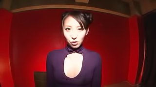 Yuuki Itano toys her Japanese pussy to orgasm in hot solo clip