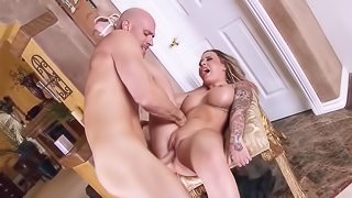 Cheating wife enjoys wild scenes of hardcore sex with the neighbor