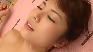 Azumi Harusaki gets fucked by some old dude in the bathroom