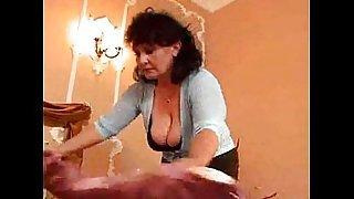 the maid gets serviced