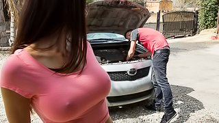 What's a mechanic's time worth these days? Too much, if you ask them. So when Rion tells his friend's mom Eva Long that she doesn't owe him anything for doing some repairs on her car that a mechanic quoted her thousands on, she feels super indebted to him