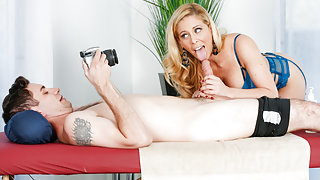 Cherie DeVille & Brad Knight in Pose For Me Mommy - FantasyMassage
