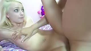 Dirty blonde wants to be banged