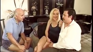 Blonde Babe Gets Her Asshole Rammed While Her Cuckold Husband Watches