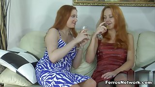 Pantyhose1 Clip: Rita and Salome