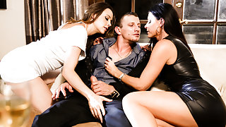 Chanel Preston & India Summer & Mr. Pete inThe Swinger #04, Scene #04