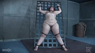 BBW abused so hard she gets covered in bruises