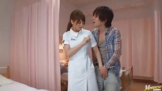 Akiho Yoshizawa Japanese nurse has sex in the hospital