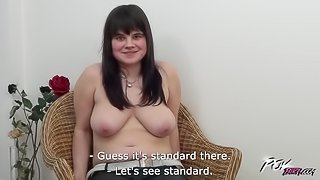 Busty horny babe ride cock like never before & get loads of cum on ass