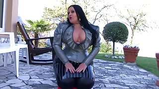 Your Strict Busty Blowjob Goddes - Blowjob Handjob in the Garden - Cum on my Tits