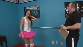 The Big Titted Ballerina Finds Comfort With Hardcore Anal Sex