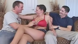 Large Tits Are Shared With Another Lover
