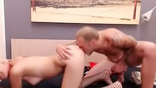 Blonde Gal Wants a Doggystyle Fuck