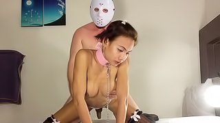 Ladyboy Nanny Sucking and Fucking