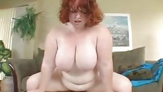 Pale And Fat Red Haired Slut Fucking