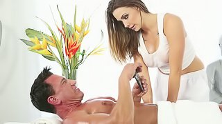 Mega Babe Chanel Preston: Massage Therapist Extraordinaire!