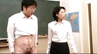 Mature teacher blowjob
