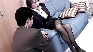 Incredible JAV censored sex movie with exotic japanese sluts
