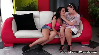 Margo T. & Dolly Diore in Good Mood, Good Sex Video