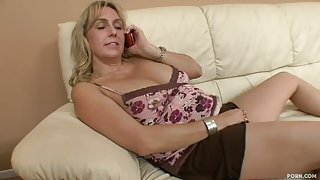 Beautiful experienced lady in hot interracial performance