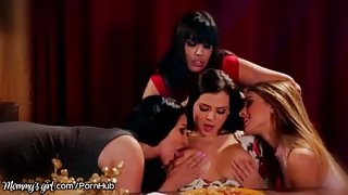 MommysGirl Latina Stepmom Eats Out Uma Jolie