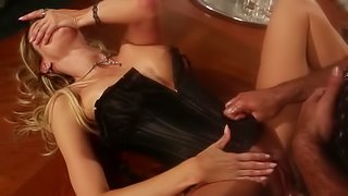 Jessica Drake and her grey-haired male have real fun