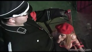 Kinky jail sex with leather and latex sluts