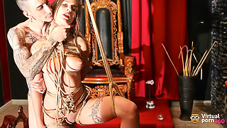 The Dungeon: BDSM Blowjob - Young Spanish Hardcore XXX