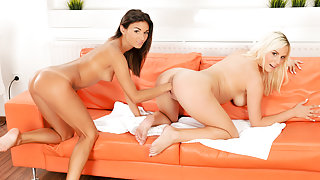 Adela & Lucy Shine in Fist of Love - 21Sextreme