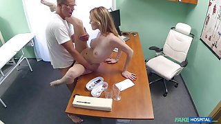 Belle Claire in Hot Czech patient craves hard cock - FakeHospital
